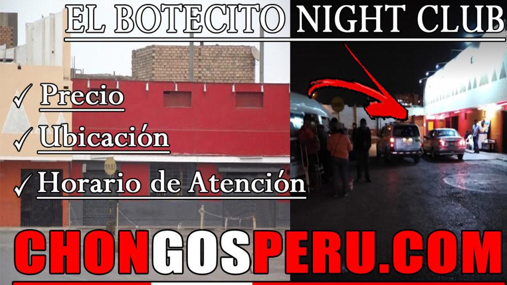 El botecito night club chongo en el callao lima kines