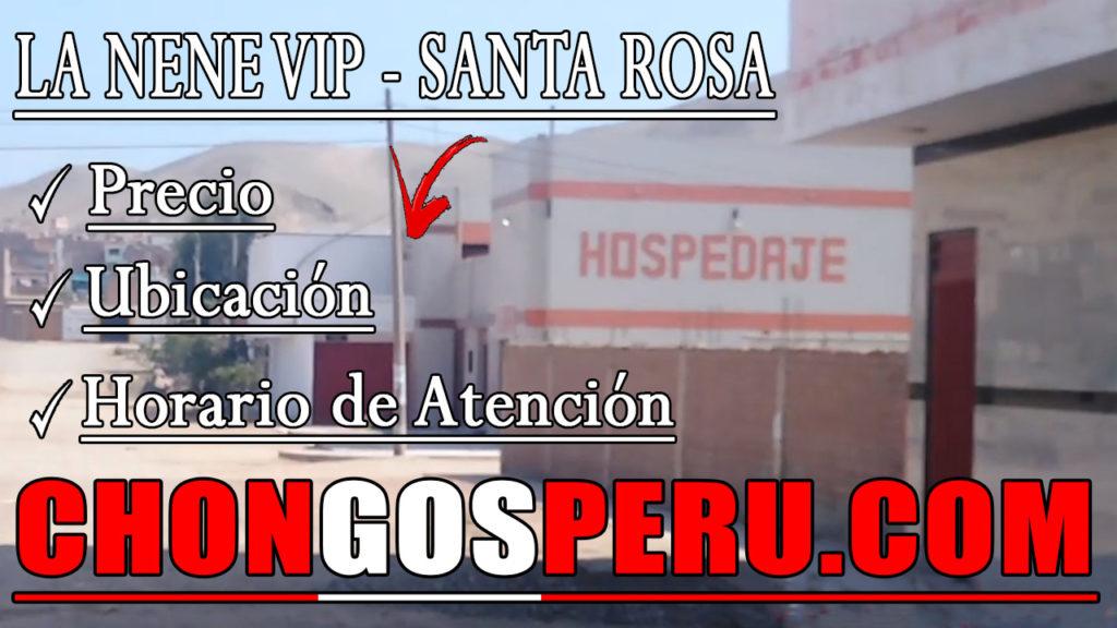 La Nene VIP chongo Santa Rosa Ancon