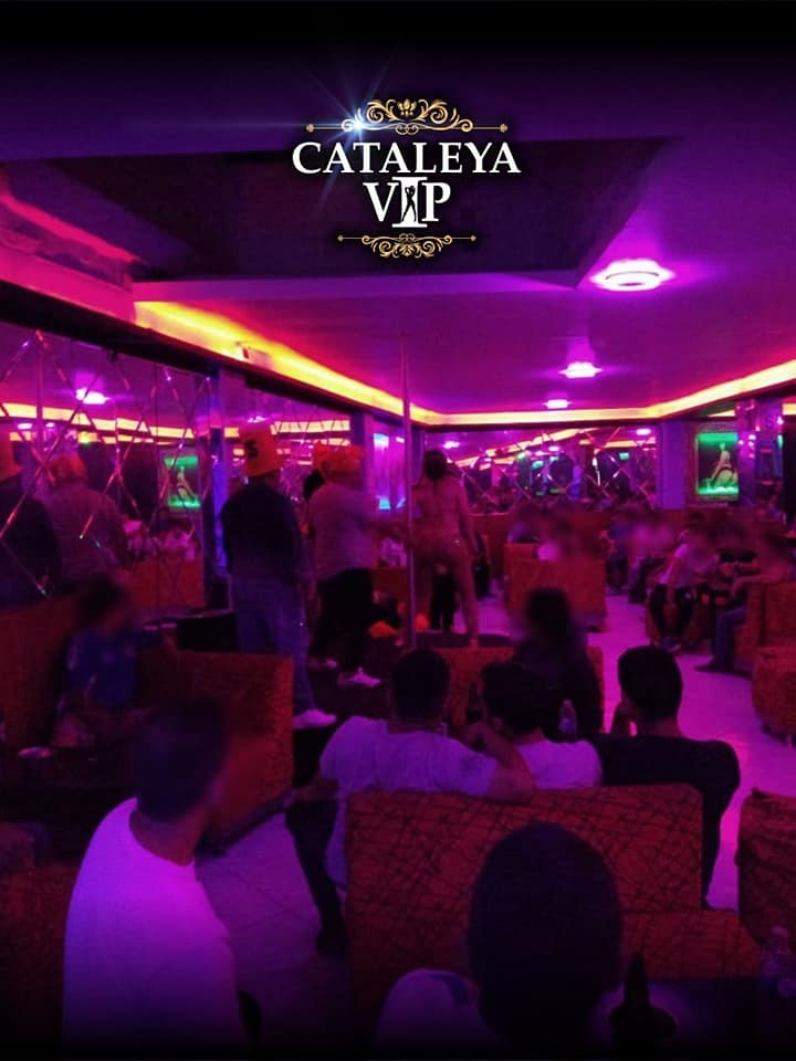 Cateleya VIP Croquis del local